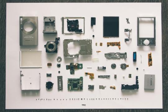 Broken Pieces by Vadim Sherbakov